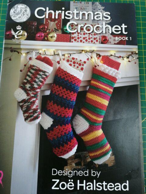 christmas crochet books