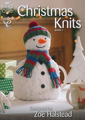 christmas knits books