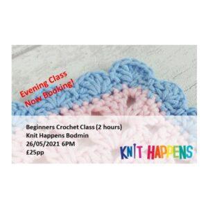 Beginners Crochet Class – 26/05/21