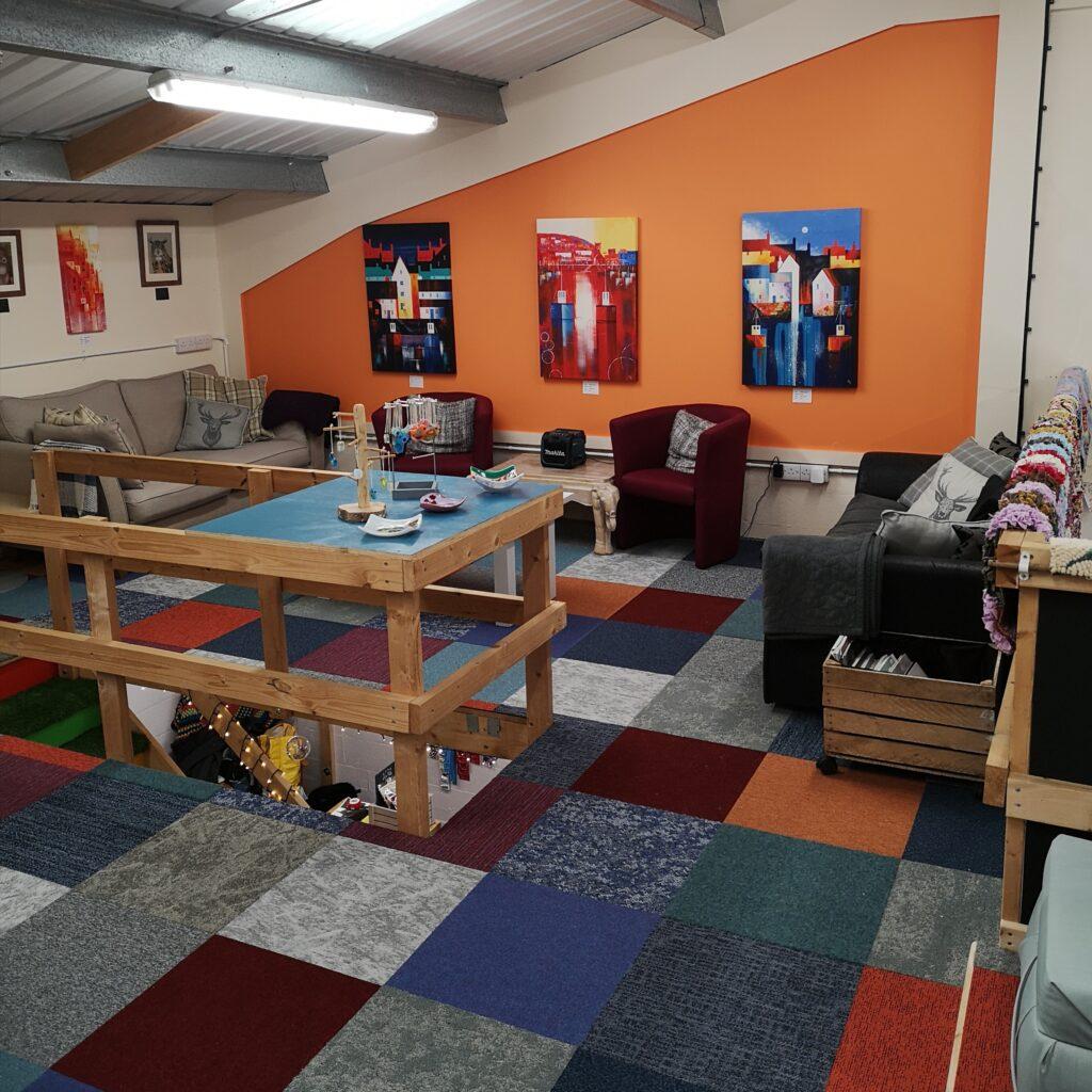 New Workshop & Natter Area