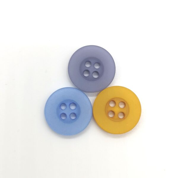 Round Deep Rimmed Buttons