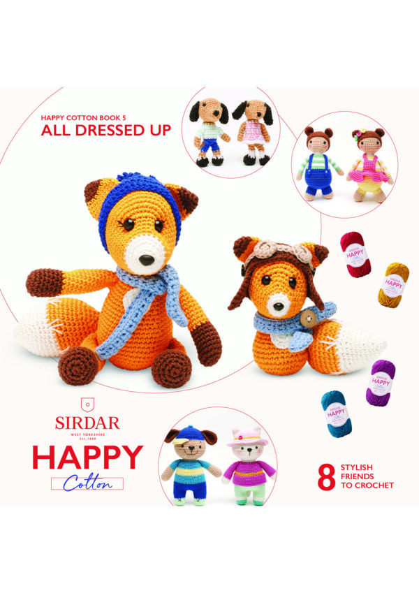 Sirdar Happy Cotton Pattern Books